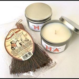 Other - Trader Joe's • Honeycrisp Candles & Cinnamon Whisk